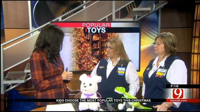Kids Choose Most Popular Toys This Christmas