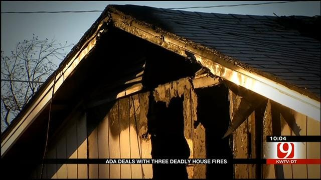 Ada Deals With Three Deadly House Fires