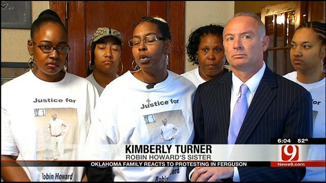 Robin Howard's Family Reacts To Situation In Ferguson