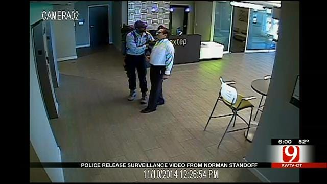 Police Release Surveillance Video Of Norman Standoff