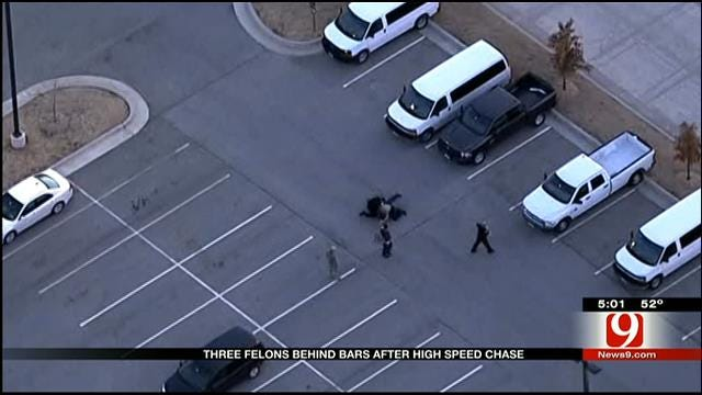 New Details On High-Speed Chase In SW OKC
