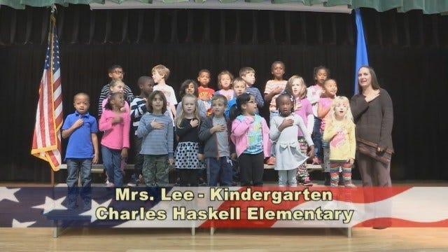 Mrs. Lee's Kindergarten Class at Charles Haskell Elementary School