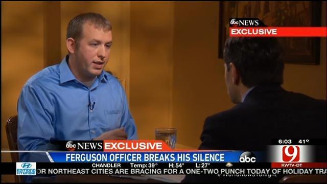 Officer Darren Wilson Gives First Interview