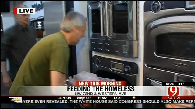 Community Members To Serve Thanksgiving Lunch To The Homeless In OKC