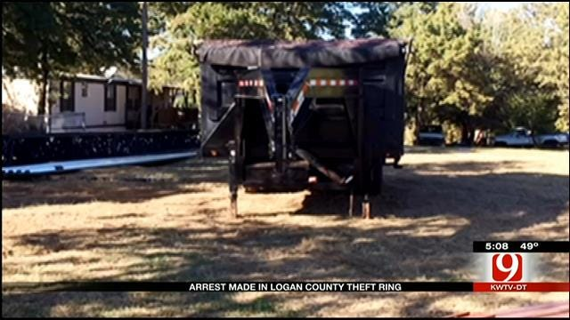 Arrest Made In Logan County Theft Ring