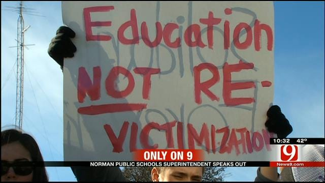 Norman Schools Superintendent Speaks Out After Student Protest