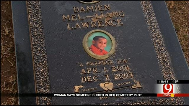 OKC Mom Discovers Someone Buried In Her Reserved Plot