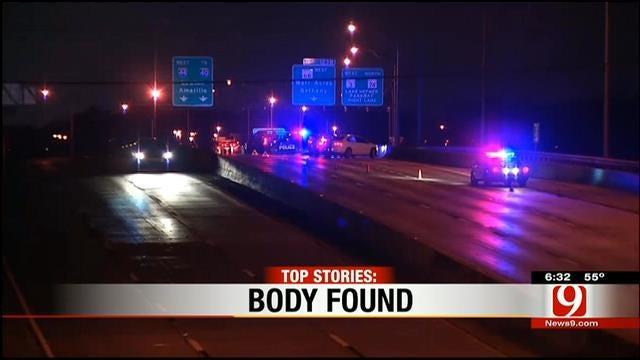 Body Found On Interstate 44 Near May Avenue