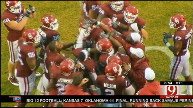 Record-Breaking Day For Perine Against Kansas