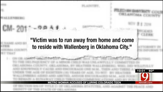 Metro Woman Accused Of Luring Colorado Teen