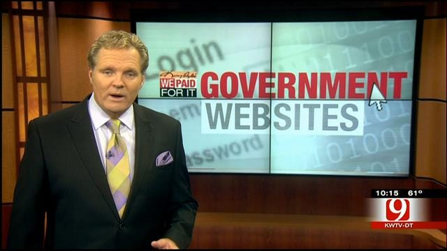 We Paid For It: Government Websites