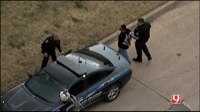 Authorities Arrest Car Chase Suspect