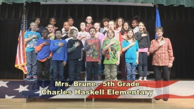Mrs. Brune's 5th Grade Class at Charles Haskell Elementary School