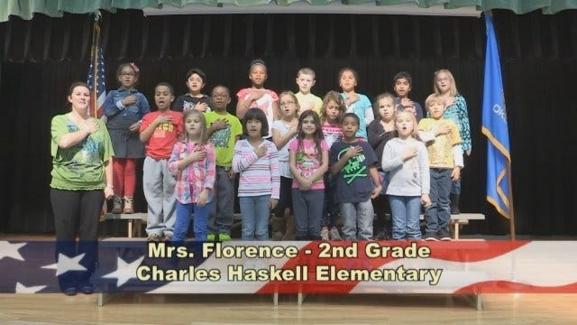 Mrs. Florence's 2nd Grade Class at Charles Haskell Elementary School
