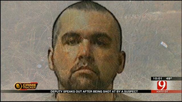Deputy Speaks Out After Allegedly Being Shot At By Manhunt Suspect