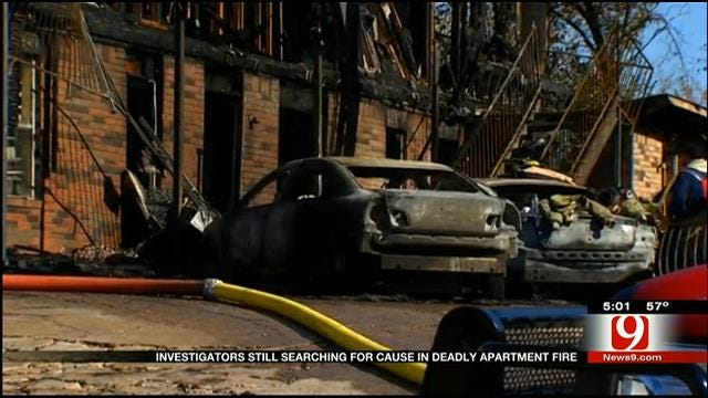 Investigators Looking For Clues In Cause Of Deadly Guthrie Apartment Fire
