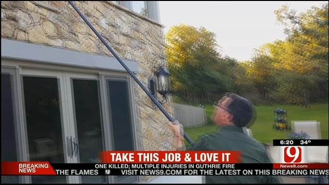 Take This Job And Love It: Stan And Jed Become Window Washers
