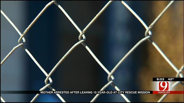 OKC Mother Jailed For Leaving Daughter At Homeless Shelter