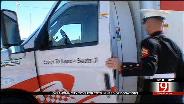 OKC Toys For Tots In Need Of Donations