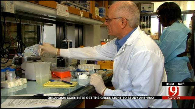 Medical Minute: Anthrax Study