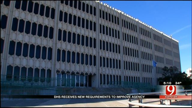 Oklahoma DHS Receives New Requirements To Improve Agency
