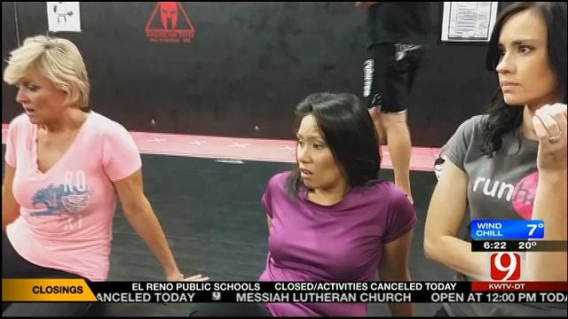 Take This Job And Love It: Bobbie, Tammy, Rachel As MMA Fighters