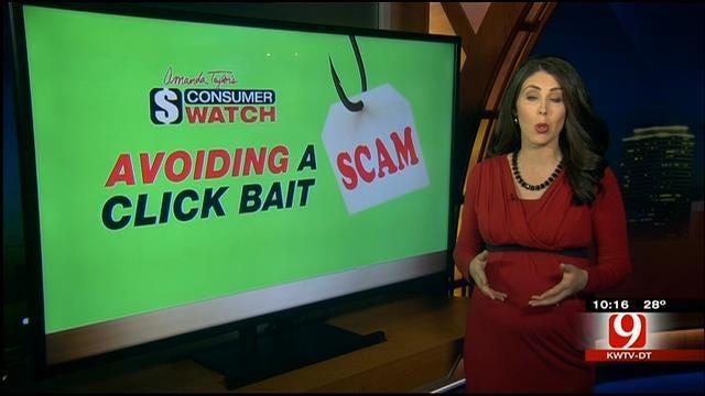Better Business Bureau Warns Oklahomans About 'Click Bait' Scams