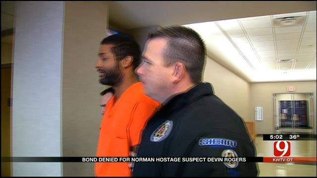 Bond Denied For Norman Hostage Suspect