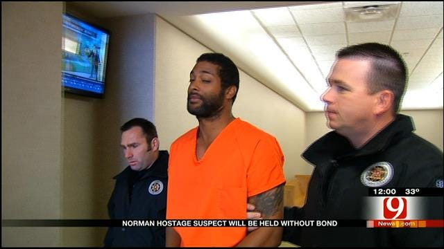 Suspect In Norman Hostage Situation Held Without Bond
