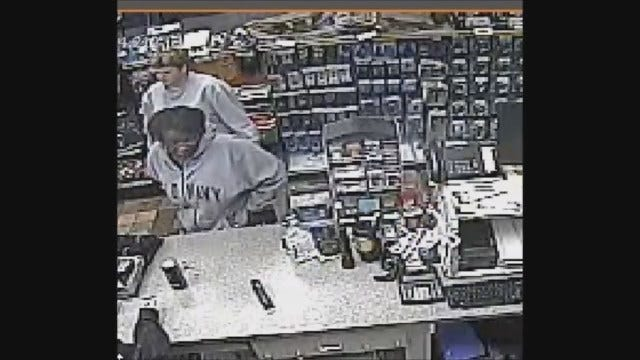 WEB EXTRA: Loves Store Armed Robbery Caught On Camera