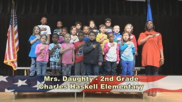 Mrs. Daughty's 2nd Grade Class At Charles Haskell Elementary