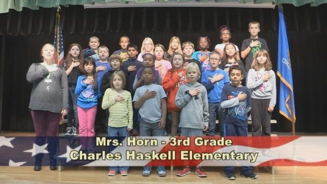 Mrs. Horn's 3rd Grade Class At Charles Haskell Elementary