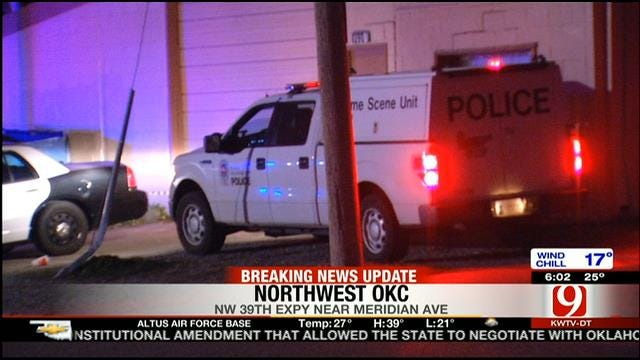 Police Investigate Shooting Outside NW OKC Bar