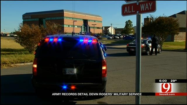 Army Records Detail Devin Rogers' Military Service
