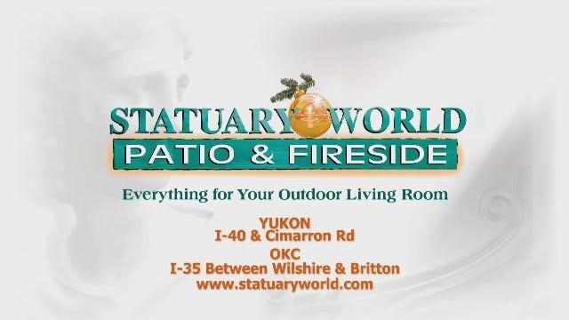 Statuary World: Patio Fireside