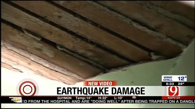 Earthquake Rattles Residents, Leaves Damage In Kansas