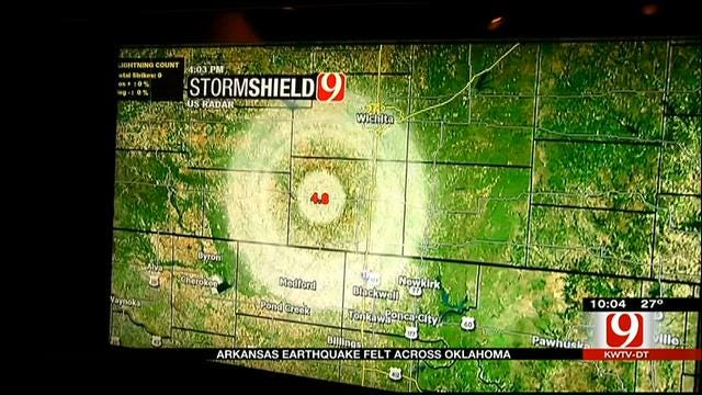 Two Earthquakes Rattle Residents All Over Oklahoma