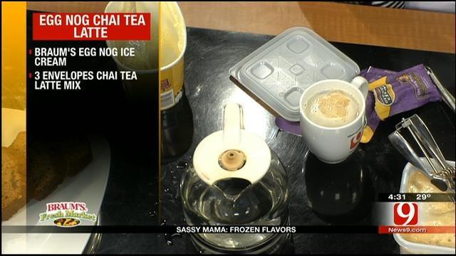 Egg Nog Chai Tea