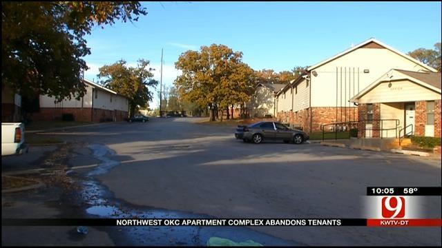 Management At NW OKC Apartment Complex Abandons Tenants