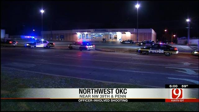 Police Shoot, Kill Armed Suspect In Northwest OKC