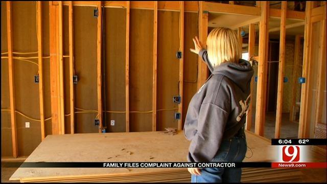 Davenport Family Files Complaint Against Contractor