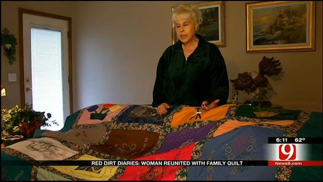 Red Dirt Diaries: Woman Reunited With Family Quilt