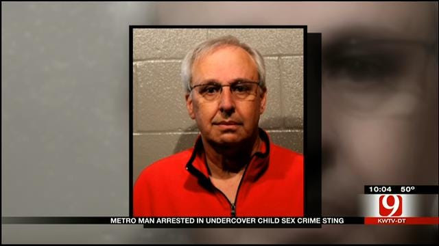 Moore Man Arrested After Undercover Child Sex Crime Sting