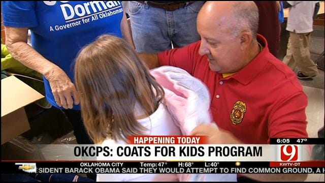 Donations Needed To Provide Coats For OKC Children In Need