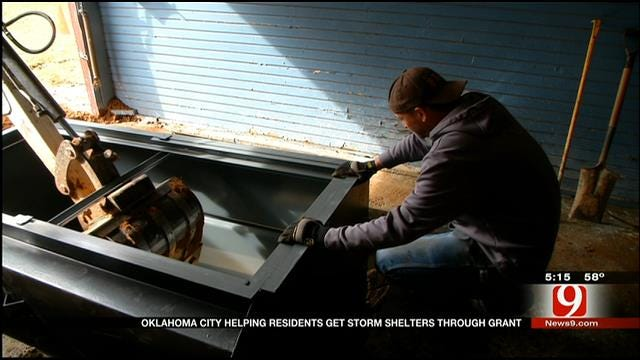 OKC Grant May Allow Some Residents To Get A Free Storm Shelter