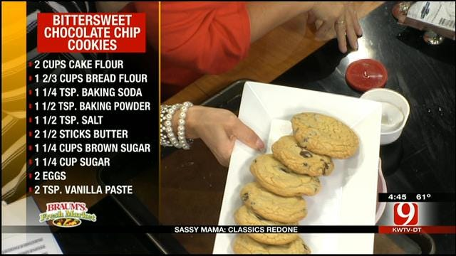 Bittersweet Chocolate Chip Cookies