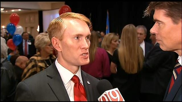 WEB EXTRA: James Lankford (R) Speaks After Win