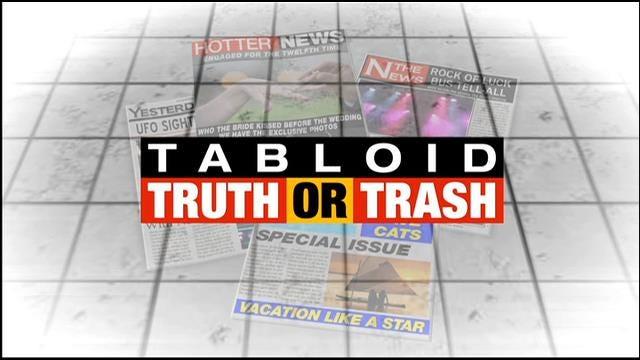 Tabloid Truth Or Trash For Tuesday, November 4