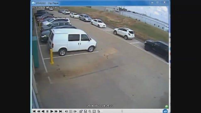 WEB EXTRA: OKC Auto Burglary Caught On Camera