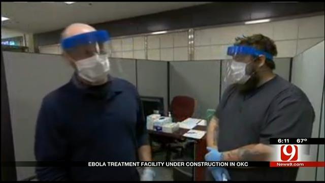 State Designates Ebola Treatment Facility In OKC